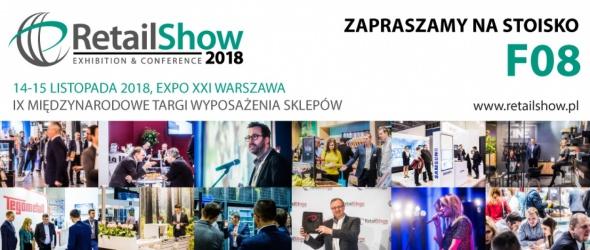 RetailShow Warszawa 14-15.11.2018